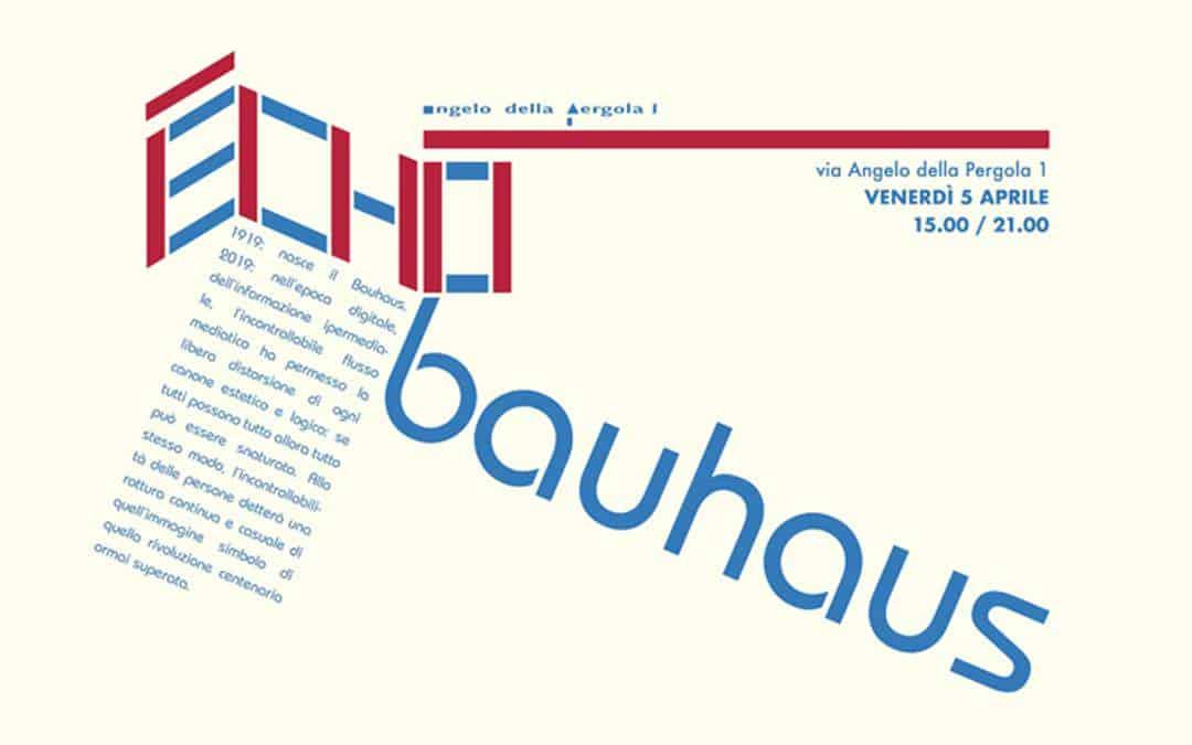 Exhibiton Echo Bauhaus